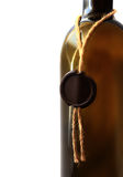 Wine bottle with sealing wax closeup Stock Photo