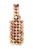 Wine bottle shaped corks Stock Photography