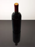 Wine bottle still-life Stock Photography
