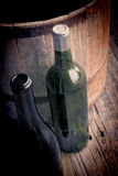 Wine bottle still life Royalty Free Stock Photos