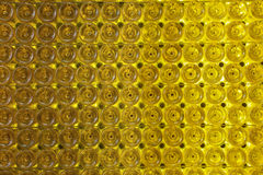 Wine bottle wall Stock Photography