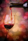 Wine. Bottle and wine,wineglass and bottle on beautiful background Royalty Free Stock Photo