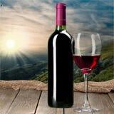Wine Bottle Stock Image