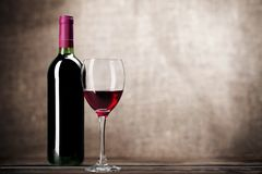 Wine Bottle Stock Photography