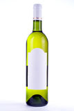 Wine Bottle With Blank Label Stock Images