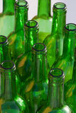 Wine bottles. Glass and recycling Royalty Free Stock Photo