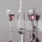 Wine bottles Royalty Free Stock Photos