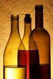 Wine bottles Stock Photos