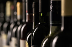 Free Wine Bottles Stock Photo - 50684410