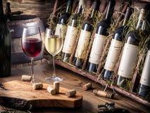 Free Wine Bottles. Royalty Free Stock Photography - 86405567