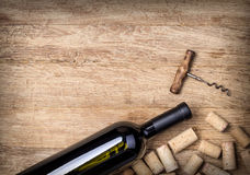 Free Wine Bottles And Corks Stock Photography - 85222392