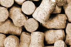 Wine bottles corks Royalty Free Stock Photography