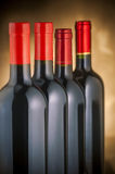 Wine bottles Royalty Free Stock Photography
