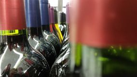 Wine Bottles Stock Photography