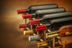 Wine bottles Royalty Free Stock Photos