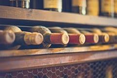 Wine bottles. Stock Photos