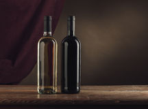 Wine bottles still life Royalty Free Stock Photography