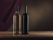 Wine bottles still life Royalty Free Stock Photography
