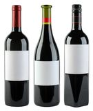 Wine Bottles Template Stock Photo