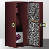 Wine box Royalty Free Stock Images