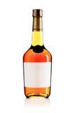 Wine brandy bottle Royalty Free Stock Image