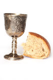 Wine and breadn Royalty Free Stock Photo