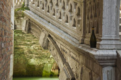 Wine and bridges Stock Images
