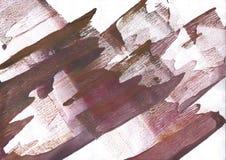 Wine brown nebulous watercolor paper Stock Photos