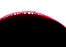 Wine bubbles stock photography