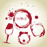 Wine bubbles Royalty Free Stock Photography