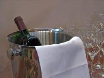 Wine in a bucket Stock Photos
