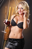 Wine call Stock Photo