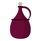 Wine carafe cork icon Royalty Free Stock Images
