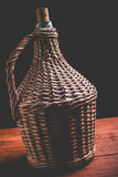 Wine carboy Stock Photography
