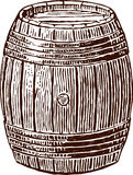 Wine cask Stock Images