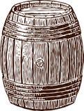 Wine cask vector illustration