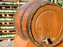 Wine cask stock image