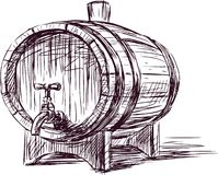Wine cask Stock Photos