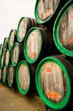 Wine casks Stock Photo