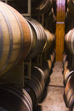 Wine casks Royalty Free Stock Photos