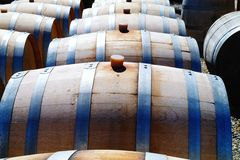 Wine casks Royalty Free Stock Photo