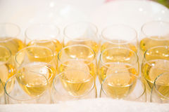 Wine catering for guests Royalty Free Stock Images