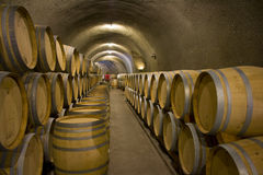 Wine cave Royalty Free Stock Images