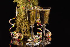 Wine for a celebration royalty free stock photo