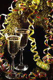 Wine for a celebration royalty free stock image