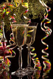 Wine for a celebration stock photo