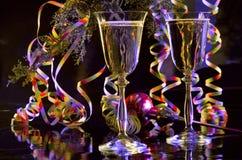 Wine for a celebration stock photos