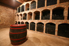 Free Wine Cellar Royalty Free Stock Image - 10745706