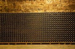 Wine cellar. In Budapest, Hungary Stock Photo