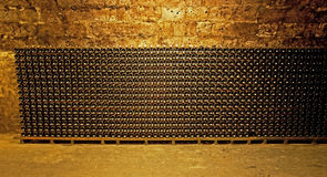 Wine cellar. In Budapest, Hungary Stock Photography